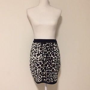 A.L.C. Leopard/Animal Print Knit Skirt!!